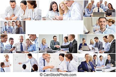 κολάζ , πολοί , επαγγελματική επέμβαση , άνθρωποι