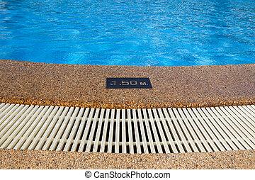 κολύμπι , βάθος , άκρη , κερδοσκοπικός συνεταιρισμός , σήμα