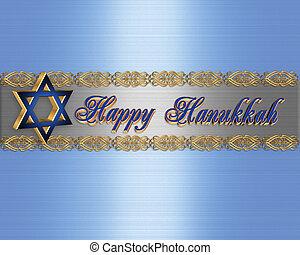 κομψός , σύνορο , hanukkah