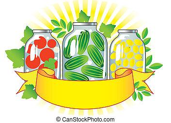 κονσερβοποιημένος , λαχανικά , ανταμοιβή , gla