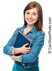 κορίτσι , αγία γραφή , σπουδαστής