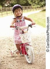 κορίτσι , γνώση , αναφορικά σε καβαλλικεύω , ποδήλατο ,...