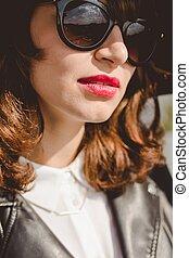 κορίτσι , γυαλλιά ηλίου