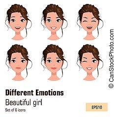 κορίτσι , διάφορος , νέος , ισχυρό αίσθημα , ελκυστικός