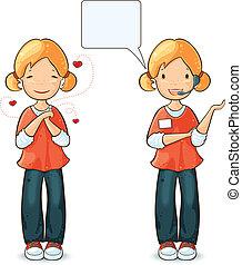 κορίτσι , ενέργειες , εκφράσεις , διαφορετικός