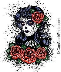 κορίτσι , ημέρα , νεκρός