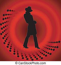 κορίτσι , μικροβιοφορέας , καπέλο , αριστερός φόντο