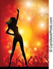 κορίτσι , χορός