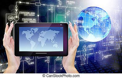 κοσμικός , υπολογιστές , τεχνολογία