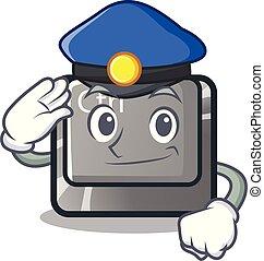 κουμπί , αστυνομία , σχήμα , γελοιογραφία , ctrl
