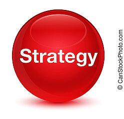 κουμπί , γιαλινός , στρογγυλός , κόκκινο , στρατηγική
