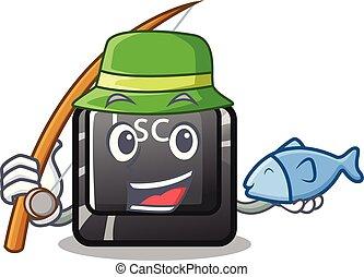 κουμπί , επισύναψα , esc , ψάρεμα , πληκτρολόγιο , γελοιογραφία