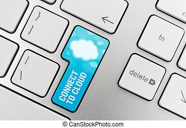 κουμπί , συνδέω , σύνεφο , χρήση υπολογιστή