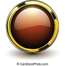 κουμπί , χρυσός