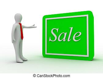 κουμπί , 3d , πώληση , άντραs