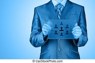 κουμπιά , επιχειρηματίας , αντίτυπο δίσκου , μοντέρνος , κοινωνικός