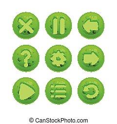 κουμπιά , μενού , μικροβιοφορέας