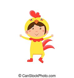 κουραστικός , εικόνα , chicken., μικροβιοφορέας , κοστούμι , παιδί