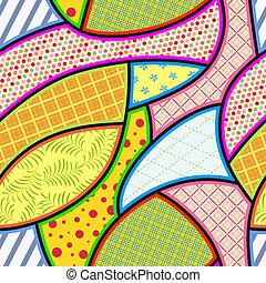 κουρελού , μικροβιοφορέας , pattern., seamless