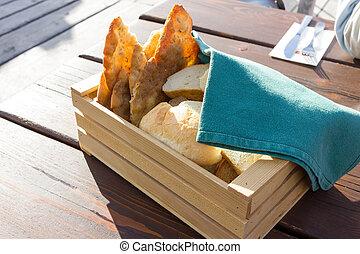 κουτί , βουνό , πρωτότυπο , υποχωρώ , breadbox