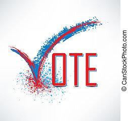 κουτί , εδάφιο , ελέγχω , ψηφίζω , σημαδεύω