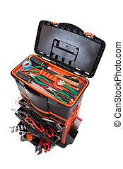 κουτί , εργαλεία , εργαλείο , ανοίγω