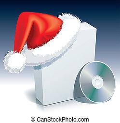κουτί , claus , santa