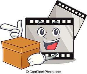 κουτί , stirep, σχήμα , characater, ταινία