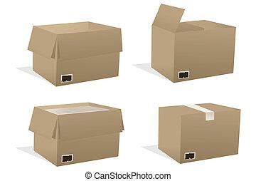 κουτιά , διάφορος