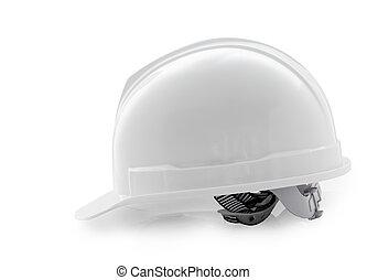 κράνος , απόκομμα , καπέλο , σκληρά , απομονωμένος , ασφάλεια , άσπρο , άσπρο , path.