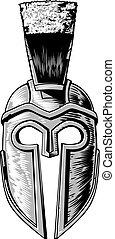 κράνος , γενναίο και φιλεργό άτομο , αρχαίος , spartan, ελληνικά , gladiator