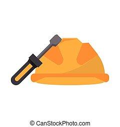 κράνος , επισκευάζω , εργαλεία , κατσαβίδι , δομή , ασφάλεια , ασφάλεια , παραγγελία