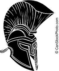 κράνος , ρωμαϊκός , spartan, gladiator, γενναίο και φιλεργό άτομο