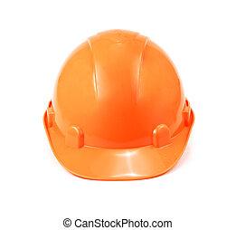 κράνος , σκληρά , απομονωμένος , φόντο , ασφάλεια , αγαθός καπέλο