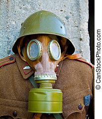 κρασί , αντιασφυξιογόνη μάσκα