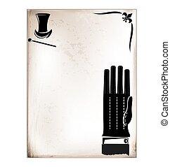 κρασί , αρσενικό , κάρτα , γάντι