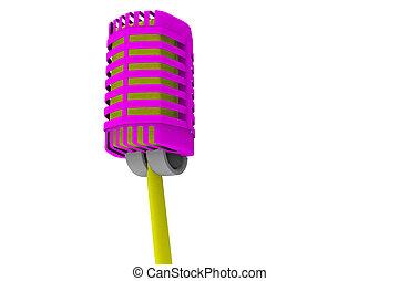 κρασί , μικρόφωνο , 3d , στούντιο , απόδοση
