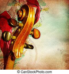 κρασί , μουσική , φόντο