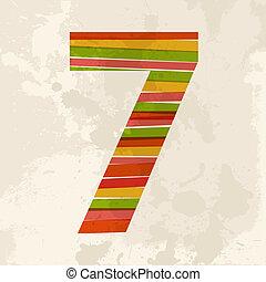 κρασί , multicolor , αριθμητική 7