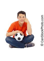 κρατάω , ποδόσφαιρο , νέοs άντραs , κάθονται