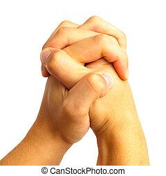 κρατάω , χέρι