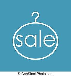 κρεμαστάρι , ρουχισμόs , πώληση
