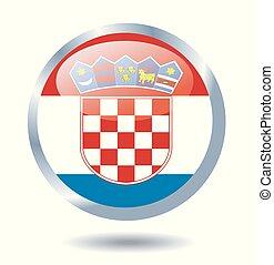 κροατία , εθνική σημαία