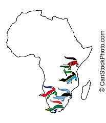 κροκόδειλος , αφρική
