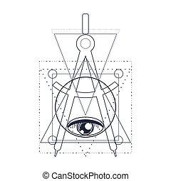 κρυφός , μυστηριώδης , σύμβολο.