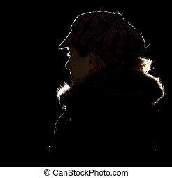 κρύο , γυναίκα