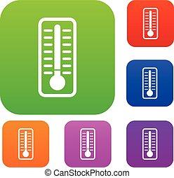 κρύο , θέτω , συλλογή , θερμόμετρο