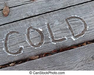 κρύο , παγερός