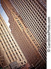 κτίρια , μέσα , στην πόλη άπειρος york