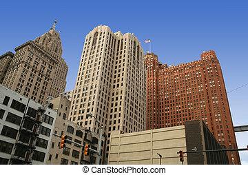 κτίρια , μέσα , detroit